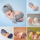 Handmade Knitting Soft Hat Pants Set Baby Clothing Accessories For 0-4 Months Ne