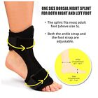 Plantar Fasciity Dorsal Night Splint for Heel Pain Relief Foot Drop Splint Brace
