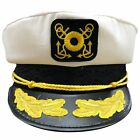 Nautical Skipper Sea Captain Adjustable Yacht Cap