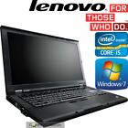 Lenovo Thinkpad T410 Laptop Core-i5 2.4ghz 8gb Ram 1tb Hdd Windows 10 / 7