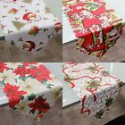 Christmas Damask Fabric Table Runner Xmas Tablecloth Cover Decoration 180x36cm for sale  Shipping to Canada