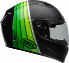 Bell Adult Black/Green Qualifier DLX MIPS Illusion Motorcycle Full Face Helmet