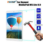 Genuine Tempered Glass Screen Protector For Huawei MediaPad M5 Lite C5 T5 Tablet
