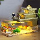 Feng Shui Craft Fish Tank Aromatherapy Air Humidifier Water Fountain Home Decor