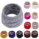 Внешний вид - Baby Kids Boys Girls Autumn Winter Collar Scarf O Ring Neck Warm Knitted Scarves