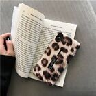 Leopard Print Case For iPhone X XR XS XS Max Hide Ring Cover Stand Holde