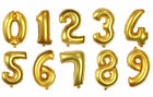 Foil Party Welcome Number Birthday Balloon Gold/Silver/Pink Mylar Foil Balloon