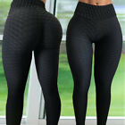 Women High Waist Yoga Pants Push Up Sports Fitness Leggings Scrunch Trousers G19