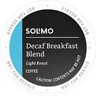 Amazon Brand - 100 Ct. Solimo Light Roast Coffee K-Cup Pods, Breakfast Blend,