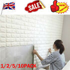 1/5/10x Pe Foam 3d Brick Wall Sticker Self-adhesive Diy Wallpaper Panels Decal