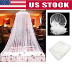 Dome Lace Mosquito Net Bed Canopy Netting Double King Size Fly Insect Protection image