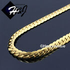 "16-40""men Stainless Steel 3mm Gold Miami Cuban Curb Link Chain Necklace*gn155"