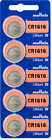 Murata Lithium 3V CR2032-1216-1220-1616-1620-1632-2016-2025-2430-2450 (5 Pack)Watch Batteries - 98625