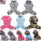 Winter Pet Dog Pajamas Jumpsuit Puppy Cat Clothes Sweater Jumper Costume Apparel