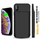 NEW 2-IN-1 SHOCKPROOF BATTERY CASE + 9H TEMPERED GLASS - APLLE IPHONE XS MAX XR