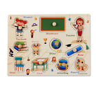 Baby Toys Toddler Puzzle/Hand Grab Board Set Educational Wooden Gift Christmas