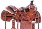 Roping Saddle 15 16 Western Leather Trail Riding Ranch Work Matching Horse Tack