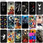 For Samsung A3 A5 2017 A8 2018 N4177 Case Christmas Fashion Cover Pattern Phone