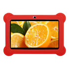 """2018 New 7"""" Quad Core Android 4.4Tablet Dual Camera Bundle Case for Kids Gift US"""