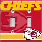 Football Kansas City Chiefs Themed Light Switch Plate Cover ~ Choose Your Cover on eBay
