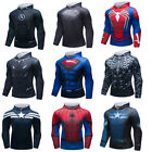 3D Print Marvel Superhero Hoodie with Pockets Cosplay Costumes Top Sweaters Gift