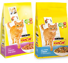 GO CAT COMPLETE DRY FOOD - Feline Biscuits Pet Feed bp Purina Chicken Duck Fish