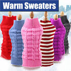 Fashion Small Medium Large Dog Sweater Pet Clothes Warm Soft Winter Clothing