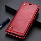 For Nokia 9 PureView Flip Leather Magnetic Vintage Shockproof Wallet Stand Case
