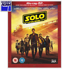 SOLO: A STAR WARS STORY Blu-ray 3D + 2D (REGION-FREE) $25.0 USD on eBay