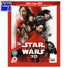 STAR WARS: THE LAST JEDI Blu-ray 3D + 2D (REGION-FREE) $22.95 USD on eBay