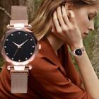 Luxury Women Starry Sky Watch Quartz Stainless Buckle Watches Fashion Gifts image