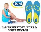 SCHOLL Gel Activ Everyday Shock Absorption Insoles Men (UK 8-13).Women(UK 4-8)