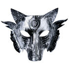 Halloween Masks Wolf Head Mask Costume Theater Prop Plastic Mask Kids Best Gift