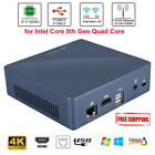 DIY Mini PC For Win10 Quad-Core WiFi HDMI USB RJ45 1000Mbps Max. Support 32GB LJ