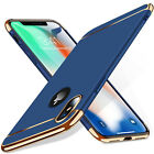 Luxury Matte Case Tempered Glass Cover For Apple iPhone X XS XR Max 10 8 7 6s 6 <br/> Free Tempered Glass✅Electro Series✅Metallic Clips✅
