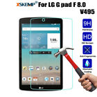 New Tempered Glass Screen Protector For LG G Pad 2/ G pad f 8.0 Inch Tablet Film