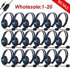 5x/10x/20x Wired Gaming Headset Stereo Headphone earphone w/ Mic For Sony LOT BT