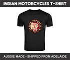 Indian Motorcycles Vintage Bike Classic Motor Triumph Racer T-Shirt Aussie Made $24.85 AUD on eBay