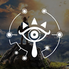 The Legend Of Zelda Sheikah Eye Of Truth Logo / Vinyl Decal Sticker
