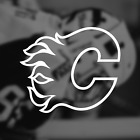 Calgary Flames NHL Logo / Vinyl Decal Sticker $7.97 USD on eBay