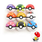 Pokemon Pokeball Pop-up 7cm Cartoon Spielzeug Kunststoff BALL Pikachu DE