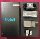 Внешний вид - Samsung Galaxy Note 8- Empty Box with Full Set Accessories Charger Cable Earbuds