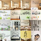 3d Removable Quote Art Decor Vinyl Wall Sticker Mural Diy Home Room Decal