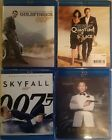 007 James Bond Blu-ray Collection: Goldfinger, Quantum, Spectre, Skyfall CHOOSE! $3.75 USD on eBay