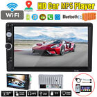 """7"""" 2DIN Touch Screen Car MP5/ Radio Video Player Bluetooth Stereo In-Dash FM/ TF"""