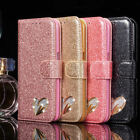 for Samsung Galaxy Note 9 Case cover Magnetic Flip Leather Wallet bling Glitter