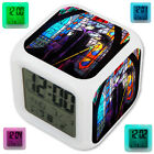 Maleficent Princess Sleeping Beauty LED Digital Alarm Clock 7 Color Changing