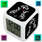 Tattooed Tinkerbell Tangled Snow White LED Digital Alarm Clock 7 Color Changing
