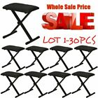 LOT 1-30X Comfortable Bench Adjustable Padded Seat Portable Piano Chair BE
