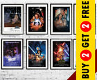 STAR WARS Movie Series Posters * All Episodes A3/A4 Size Wall Art Picture Prints £7.99 GBP on eBay